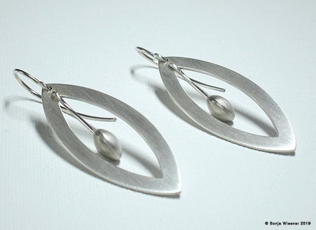 Ohrhänger, 925/000 Silber